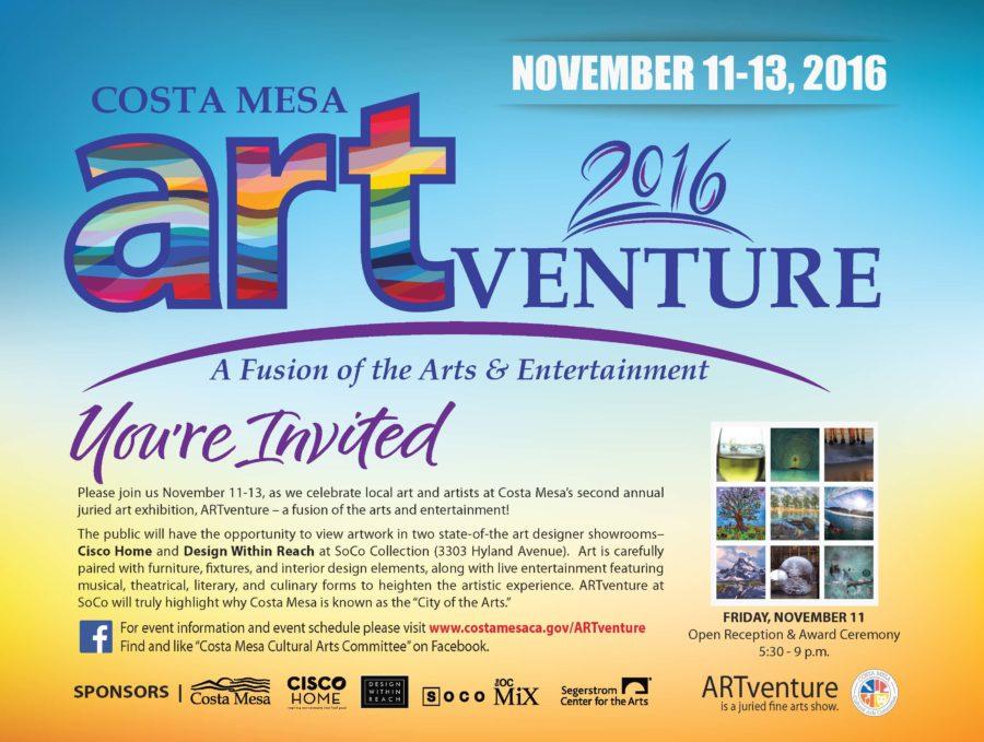 Artventure city of costa mesa news for Costa mesa motor inn