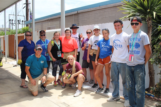 Cmpd chaplain leads volunteers in cleanup efforts at for Costa mesa motor inn